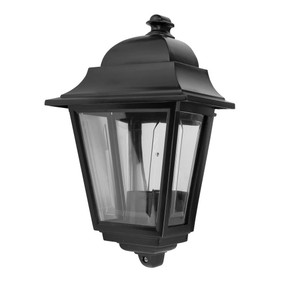 Paris Wall Bracket Light - Black Finish / B22