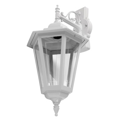 Turin Large Downward Wall Light - White Finish / B22