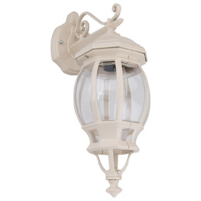Vienna Downward Wall Light - Beige Finish / B22