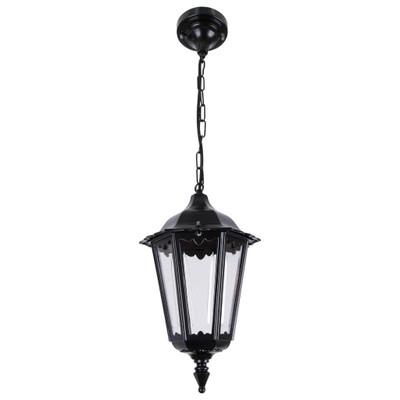 Chester Pendant Light - Black / B22