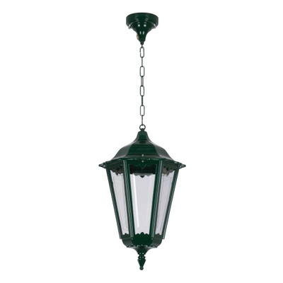 Chester Large Pendant Light - Green Finish / B22
