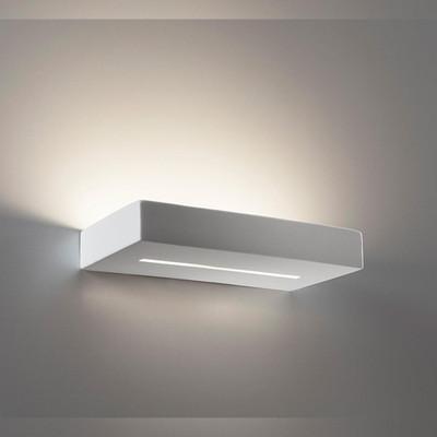 Ceramic 30cm Wall Light - Raw / G9