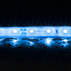 Flexible 60 LED Weatherproof Strip - 4.8W 12V / Blue LED