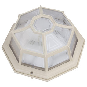 Vienna Surface Mounted Light - Beige Finish / B22