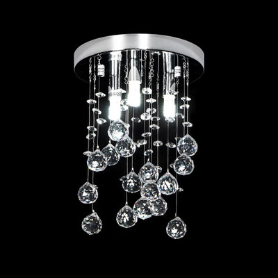 Crystal LED CTC Pendant - Height 300mm / White LED