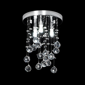Crystal LED CTC Pendant - Height 300mm / White LED