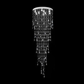 Crystal LED Pendant - Diameter 860mm / White LED