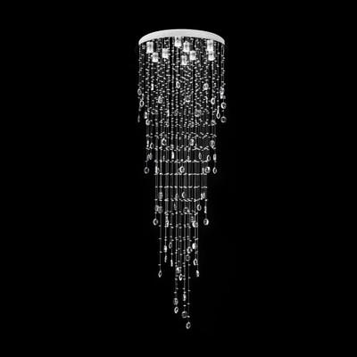 Crystal LED Pendant - Diameter 860mm / White LED
