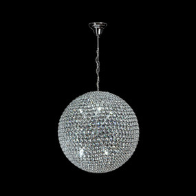 Crystal LED Pendant - Diameter 600mm / White LED