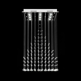 Crystal LED Pendant - Width 600mm / White LED