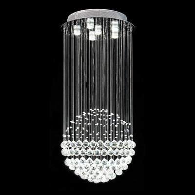 Crystal LED Pendant - Height 600mm / White LED