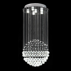 Crystal LED Pendant - Height 600mm / White LED