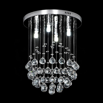Crystal LED CTC Pendant - Diameter 300mm / White LED