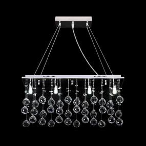 Crystal LED Pendant - Length 800mm / White LED