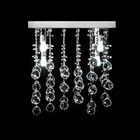 Crystal LED CTC Pendant - Length 300mm / White LED