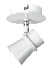 Period 1 Light LED Ready Spotlight White