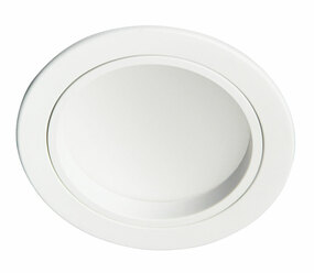LED Downlight - Dimmable 10W  560lm IP20 3000K 115mm White