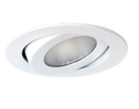 Gimble Downlight - Dimmable 10W 650lm 3000K IP20 95mm White