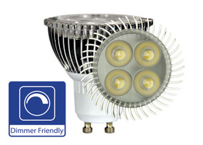 LED GU10 5W Dimmable 45° 300lm 5000K