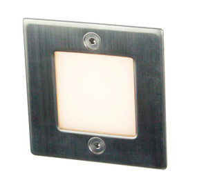 Flatline 9 LED Recessed Wall Light 3000K