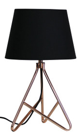 Oriel Nolita Table Lamp and Shade Copper