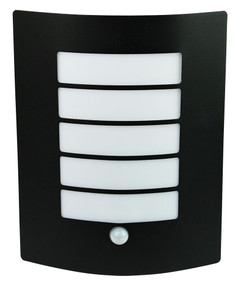 Stylized Sensor Wall Light Matt Black