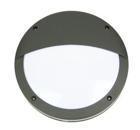 Stylish Eyelid Graphite Outdoor Light E27