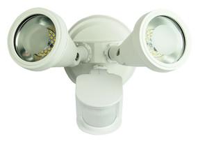 Classic LED Twin Sensor Flood White