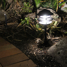 Pleasing 12V Garden Spike Light Black