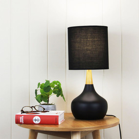 Global Touch Lamp Black Complete