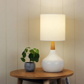 Global Touch Lamp White Complete