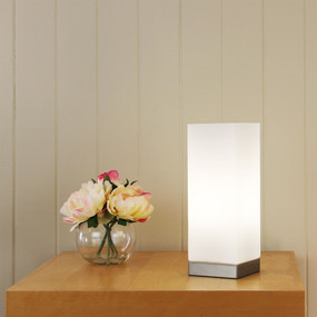 Linear Square Touch Lamp Opal Matt / Brchr