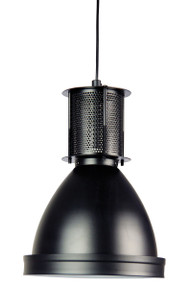 Chic Industrial Single Pendant Black