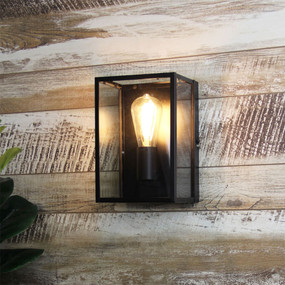 Upscale Wall Light Black