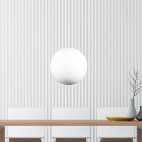 Pendant Light - 60W 30cm Acrylic White