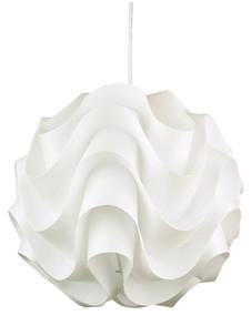 Modern Chic Pendant 43cm White