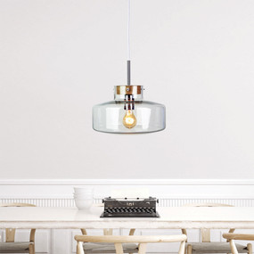 Contemporary-30 Clear Glass Pendant