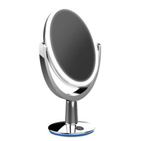Makeup Mirror LED Dimmable - 5 x Magnification Chrome