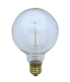 Carbon Filament E27 G95 25W 2800K 130lm Dimmable Globe