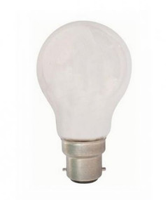 Halogen B22 GLS 72W 100W Frosted 2800K 1220lm Dimmable Globe
