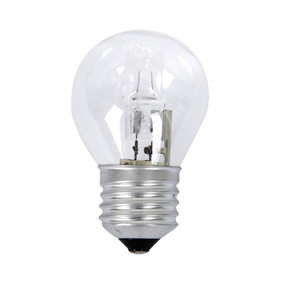 Halogen E27 Fancy Round 28W 40W Clear 2800K 370lm Dimmable Globe