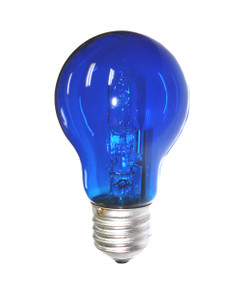 Halogen E27 GLS 28W 40W Blue 340lm Dimmable Globe