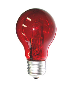 Halogen E27 GLS 28W 40W Red 340lm Dimmable Globe