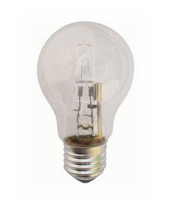 Halogen E27 GLS 42W 60W Clear 2800K 630lm Dimmable Globe