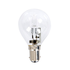 Halogen B15 Fancy Round 28W 40W Clear 2800K 370lm Dimmable Globe