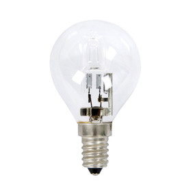 Halogen E14 Fancy Round 28W 40W Clear 2800K 370lm Dimmable Globe
