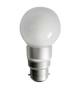 LED B22 Fancy Round 4W 5000K Frosted 300D 300lm Globe