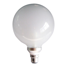 LED B22 G125 6W Frosted 5000K 300D 430lm Globe