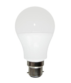 LED B22 GLS Dimmable 10W 3000K Frosted 300D 810lm Globe