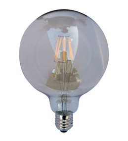 LED Carbon Filament E27 G125 6W 2200K 425lm Globe